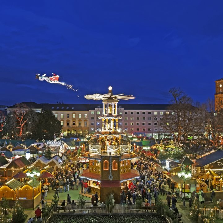 Weihnachtsmarkt Eiszeit Karlsruhe