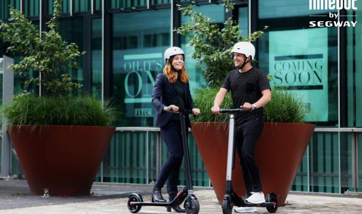 Ninebot by Segway ES1 en ES2 KickScooters zullen getoond worden op IFA 2017 in Berlijn  Amsterdam, Nederland - 14 augustus 2017 - Vandaag breidt Segway, ?s werelds toonaangevende leverancier van persoonlijk elektrisch vervoer, haar consumentenlijn uit met de lancering van twee s...
