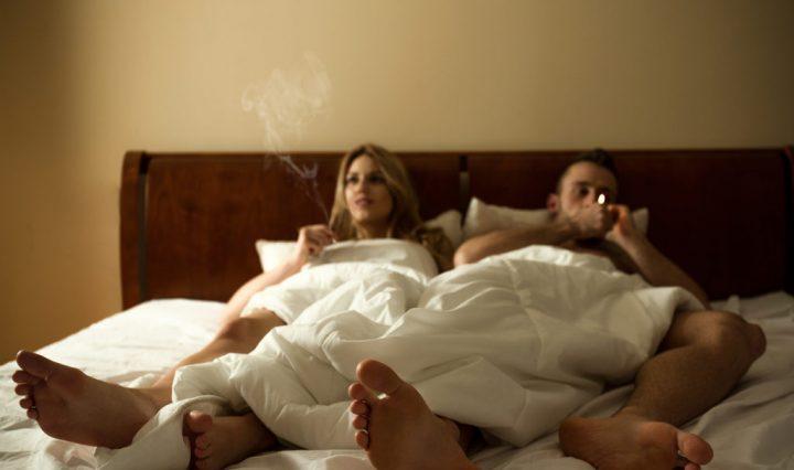 smokingbed